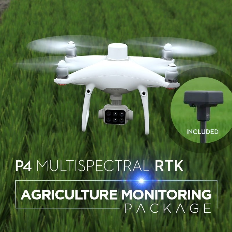 P4 Multispectral RTK Agriculture Monitoring Package