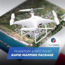Phantom 4 Pro Pix4Dreact Rapid Mapping Package