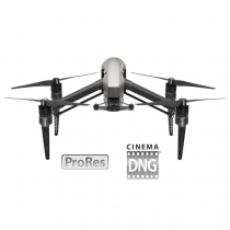 DJI Inspire 2 Aircraft with Cinema DNG and Apple ProRes