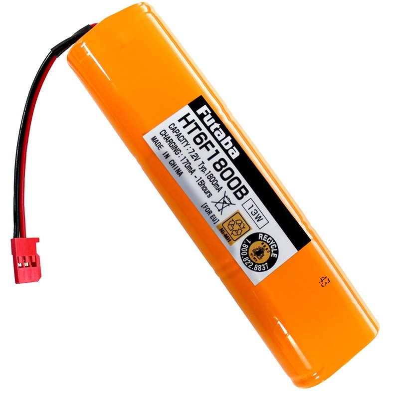 Futaba HT6F1800B NiMH Transmitter Battery