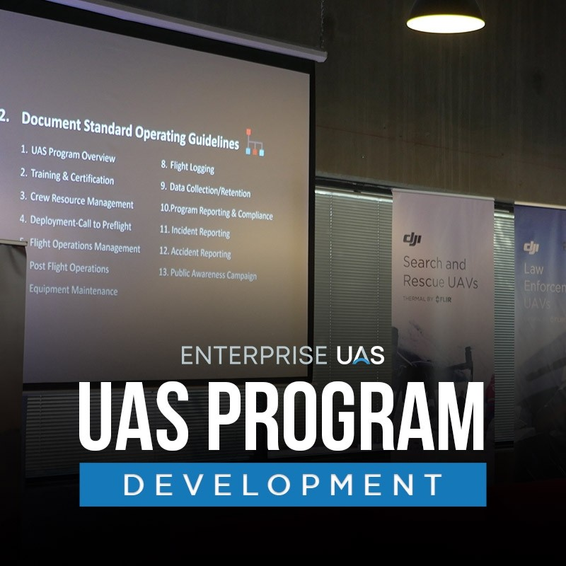 Enterprise UAS - UAS Program Development Consulting (2-Days)
