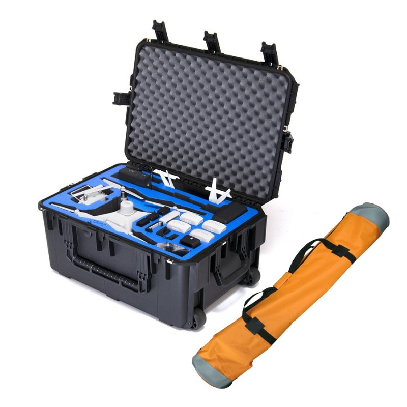 GoProfessional Cases DJI Phantom 4 RTK (with Base Station) Case with Tripod Bag