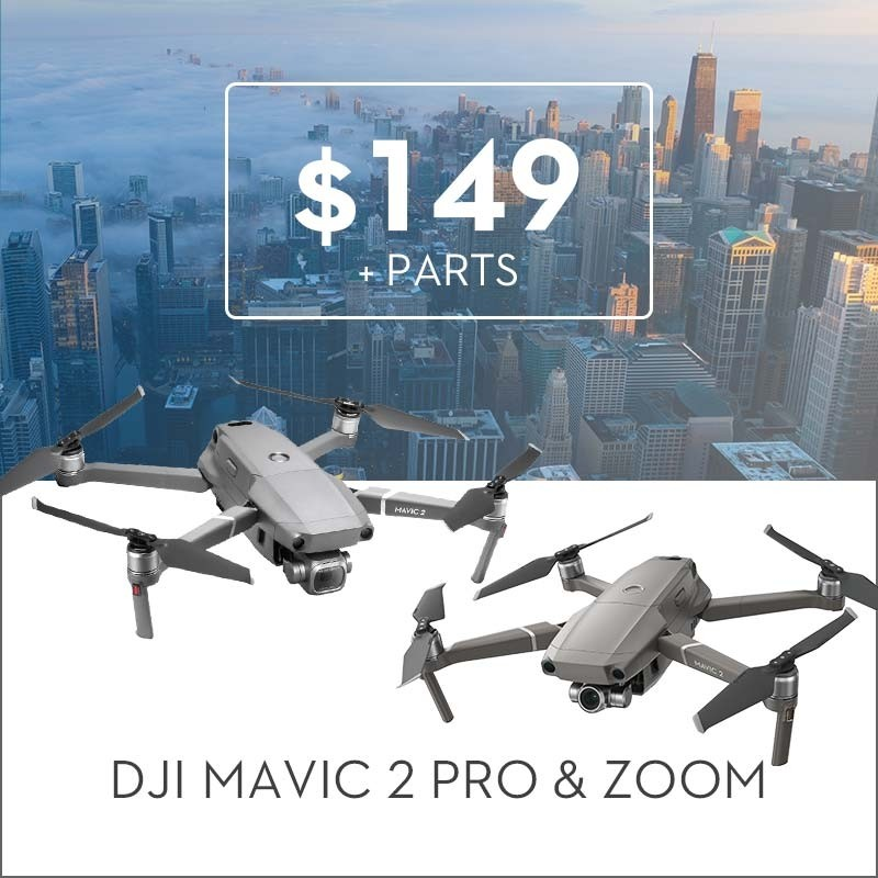 Repair Service For Mavic 2 Pro and Zoom