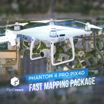 Phantom 4 Pro Pix4Dreact Fast Mapping Package