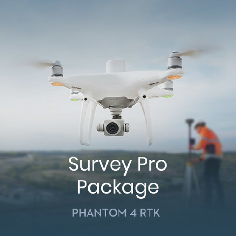 Phantom 4 RTK Survey Pro Package