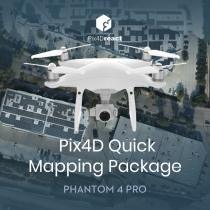 Phantom 4 Pro Pix4Dreact Quick Mapping Package