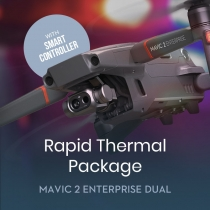 Mavic 2 Enterprise Dual w/ Smart Controller Rapid Thermal Package